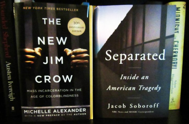 Covers of The New Jim Crow and Separated