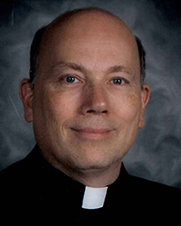 Father John Huber Headshot