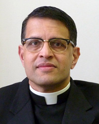 Father Mario D'Souza Headshot