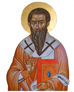 St. Basil the Great, patron saint of the Basilian Fathers