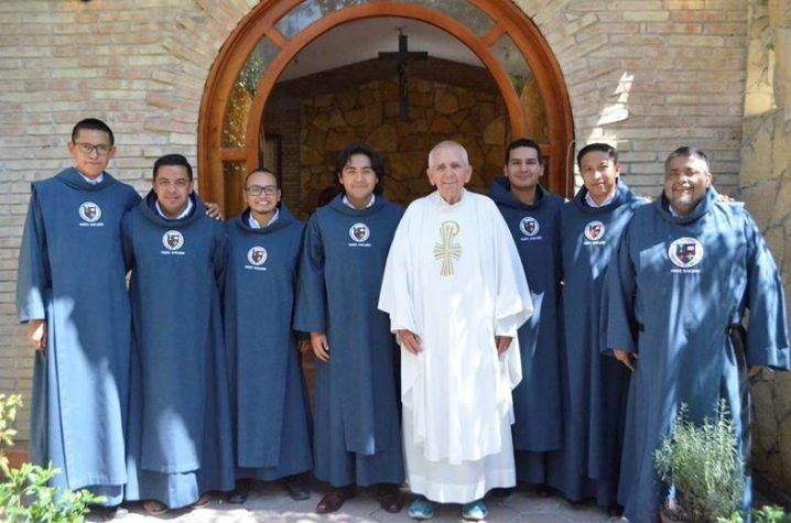 Novitiate community in Mexico