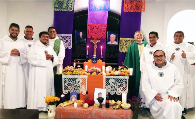 Basilian community celebrated Day of the Dead