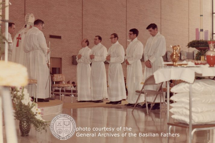 Priestly ordination on December 5, 1970 in Detroit