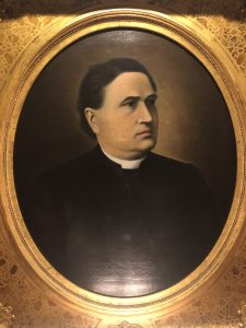 Portrait of Fr. O'Connor, first superior of the Basilians in Windsor