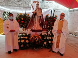 Father John Huber, CSB accepted the vows and Father Beto Rojas, CSB presented the novices for profession and preached.